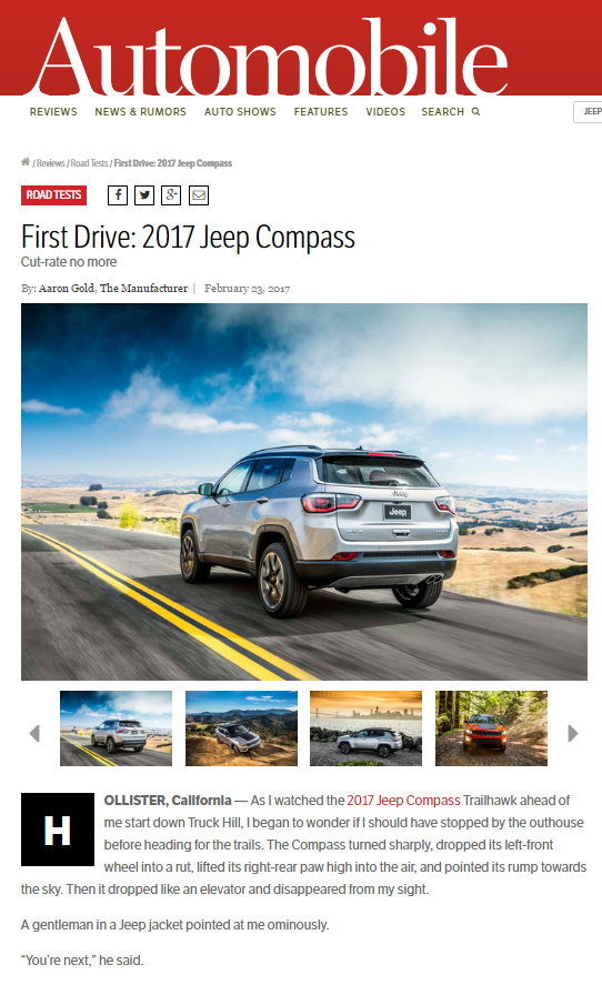 Jeep Compass Automobile